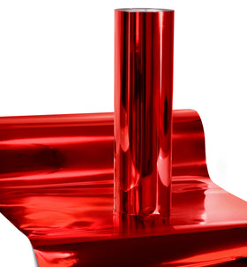 V2 Pro Chrome Red Heat Transfer Film HTV