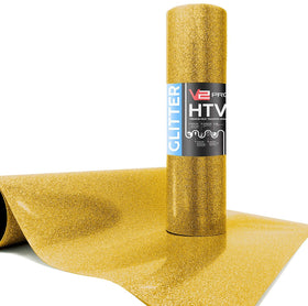 V2 Pro Hyper Gold Glitter Heat Transfer Film