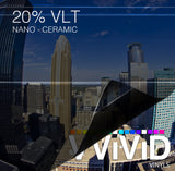 VViViD OPTIC Nano Ceramic Window Tint 20% VLT | Vvivid Canada