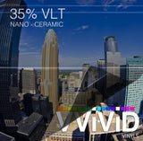 VViViD OPTIC Nano Ceramic Window Tint 35% VLT | Vvivid Canada