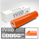 DECO65 Gloss Orange Permanent Craft Film