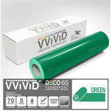 DECO65 Gloss Green Permanent Craft Film