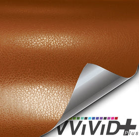 2019 VViViD+ Classic Brown Fine Grain Leather