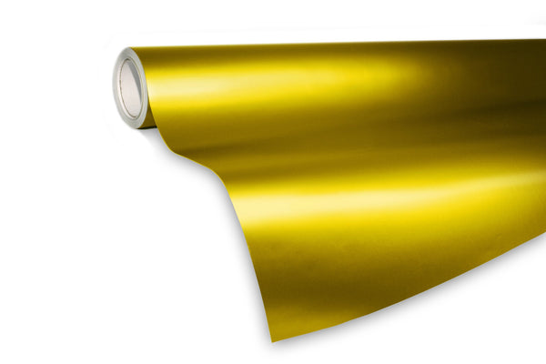 XPO Satin Chrome Gold - The VViViD Vinyl Wrap Shop
