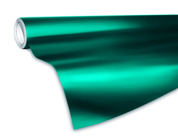XPO Satin Chrome Emerald Dark Green - The VViViD Vinyl Wrap Shop