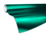 XPO Satin Chrome Emerald Dark Green Vinyl Wrap roll | Vvivid Canada
