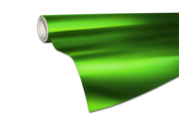 XPO Satin Chrome Green - The VViViD Vinyl Wrap Shop