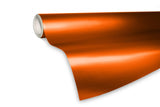 XPO Satin Chrome Orange Vinyl Wrap roll | Vvivid Canada