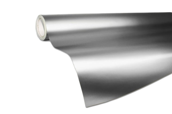 XPO Satin Chrome Silver - The VViViD Vinyl Wrap Shop