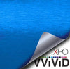 Metallic Blue Brushed Steel - The VViViD Vinyl Wrap Shop