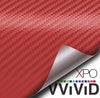 Red Dry Carbon (Interior Only) - The VViViD Vinyl Wrap Shop