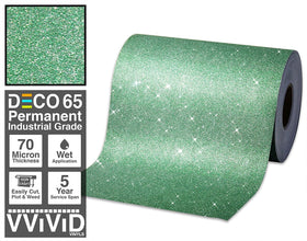 Deco65 Green Glitter Craft Vinyl