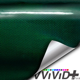 2020 VVIVID+ Holographic Weave Green Gloss
