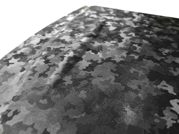 2020 VVIVID+ Black Stealth Camouflage Micro Pattern - The VViViD Vinyl Wrap Shop