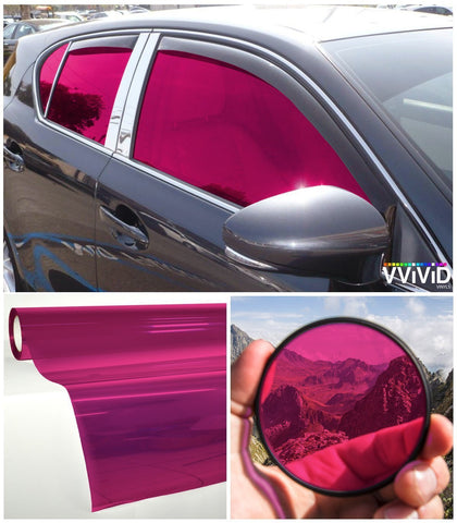 VViViD Pink Transparent Window Tint display