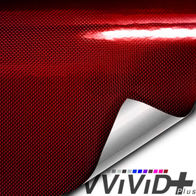 2020 VVIVID+ Holographic Weave Red Gloss