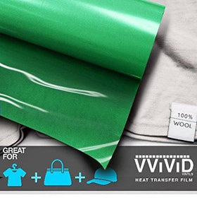 VViViD Green Heavy-Duty Heat Transfer Vinyl 12