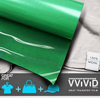 "VViViD Green Heavy-Duty Heat Transfer Vinyl 12"" x 36"""