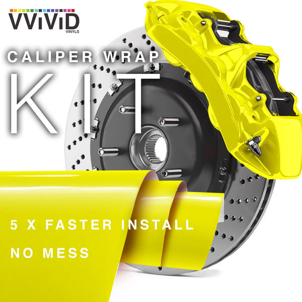 VViViD Yellow Enamel Wrap ( Heat Resistant ) - The VViViD Vinyl Wrap Shop