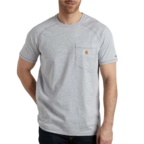 FORCE SHORT SLEEVE T- GREY