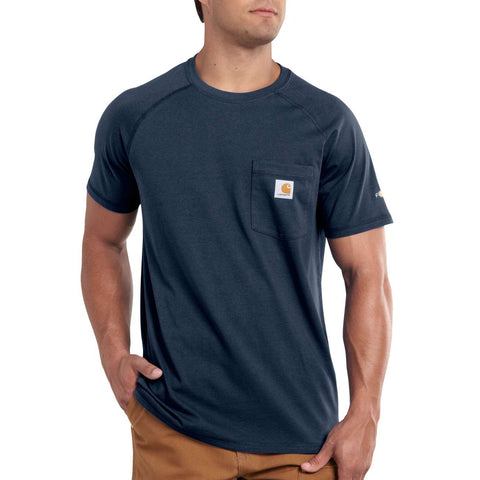 FORCE SHORT SLEEVE T- NAVY