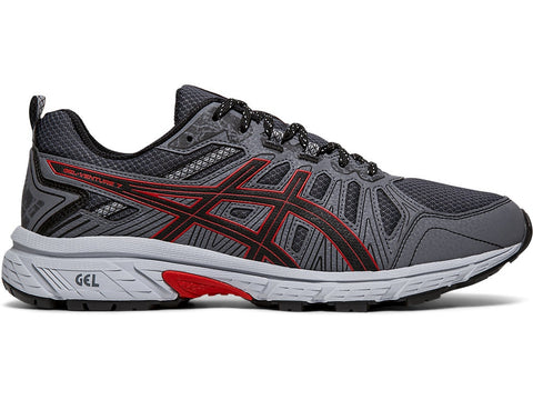 GEL-VENTURE 7 MENS - BLK/RED 4E WD