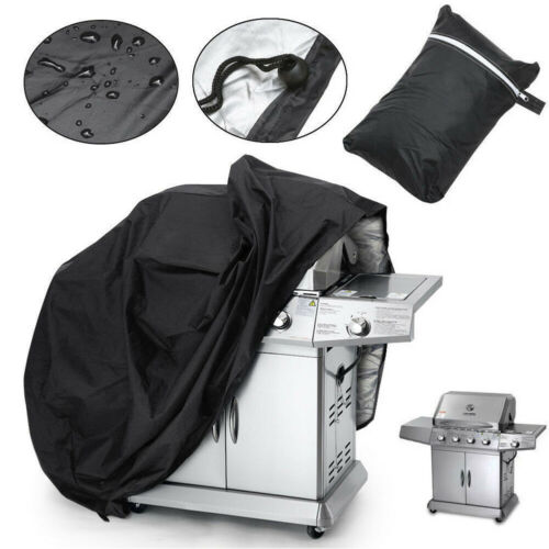 BBQ Cover Waterproof Barbecue Covers Patio Black Portable Grill Protector 3XS/2XS/XS/S/M