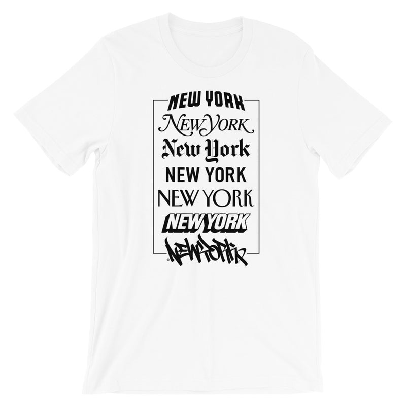 New York Logos - Short-Sleeve Unisex T-Shirt
