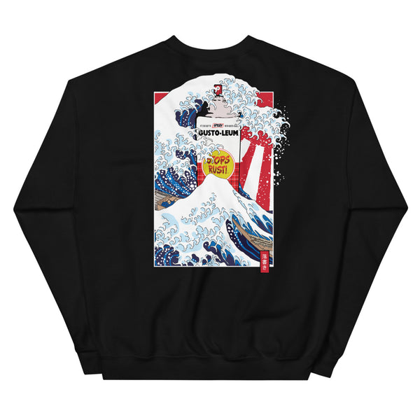 Great Graffiti Wave - Crewneck Sweatshirt