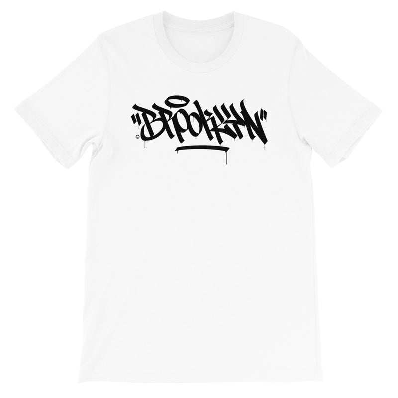 """Brooklyn"" Graffiti Handstyle - Short-Sleeve Unisex T-Shirt"
