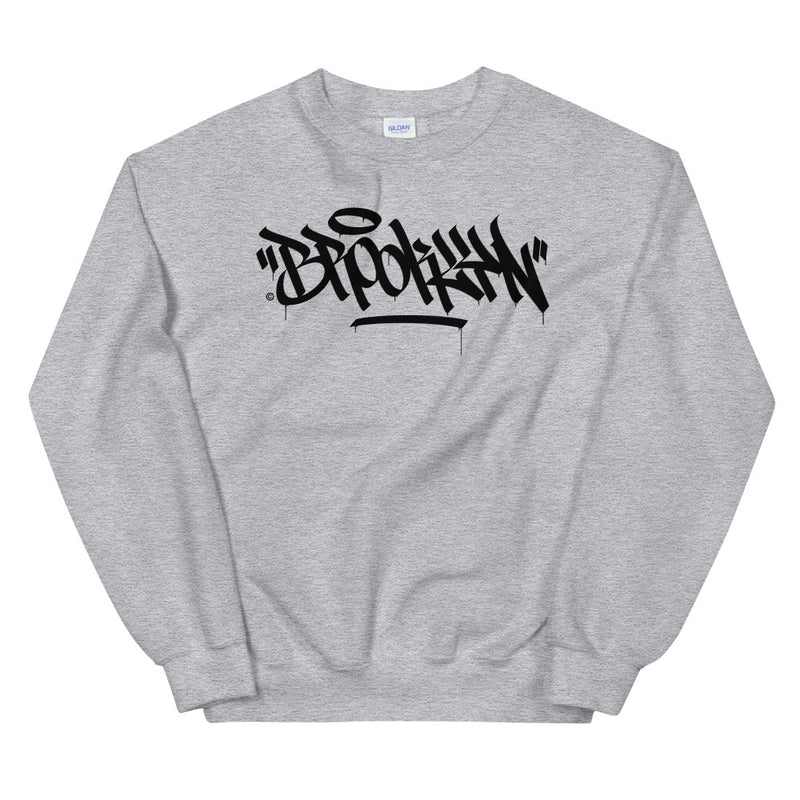 """Brooklyn"" Graffiti Handstyle - Crewneck Sweatshirt"