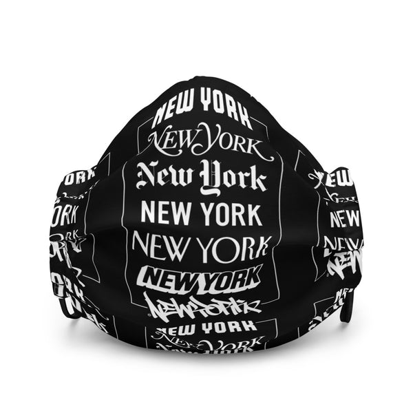 New York Logos - Premium face mask