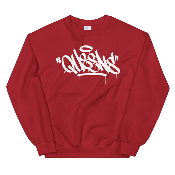 """Queens"" Graffiti Handstyle - Crewneck Sweatshirt"