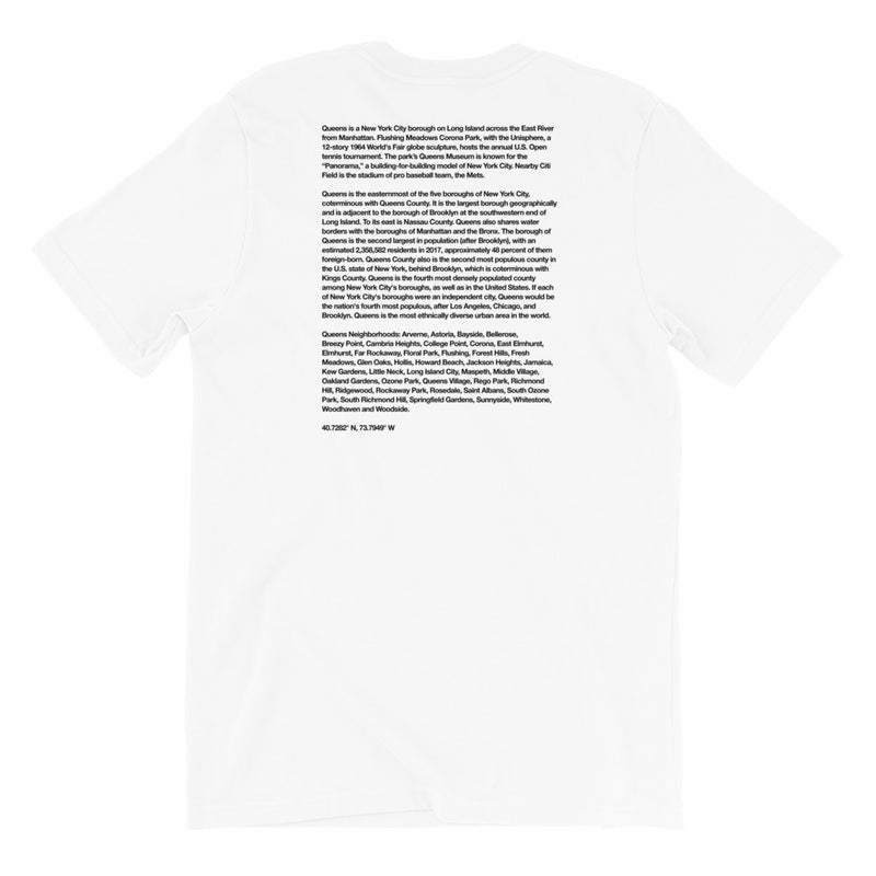 """Queens"" Graffiti Handstyle - Short-Sleeve Unisex T-Shirt"