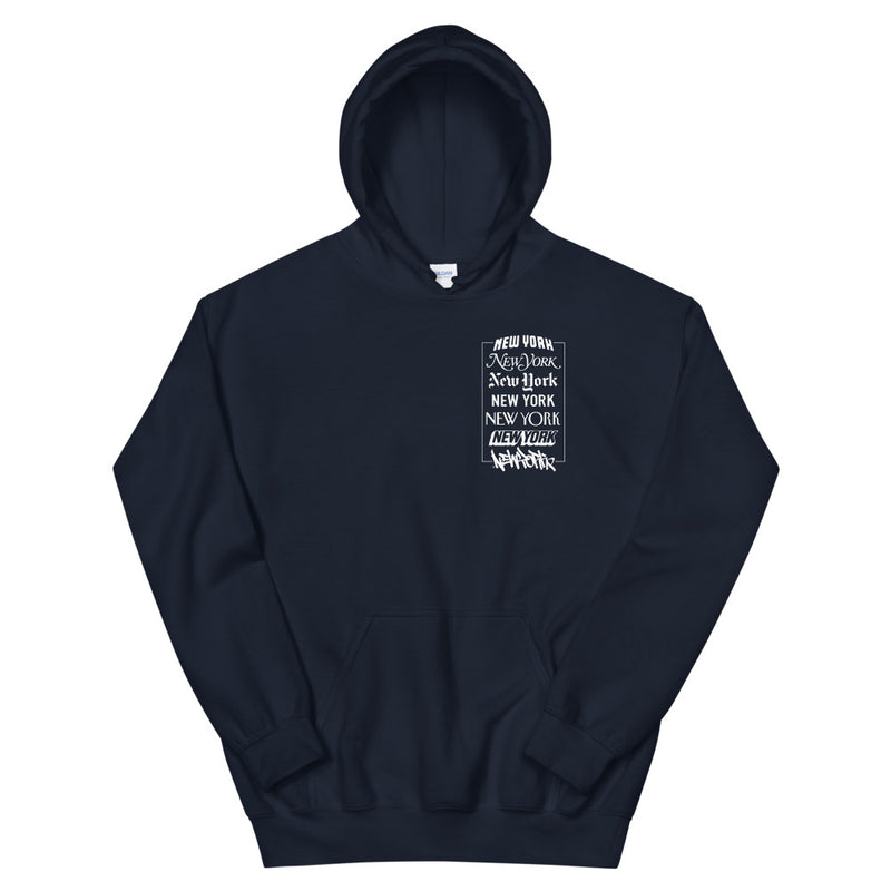 New York Logos - Hooded Sweatshirt