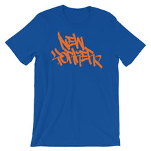 "Load image into Gallery viewer, ""New Yorker"" Handstyle Short-Sleeve Unisex T-Shirt"