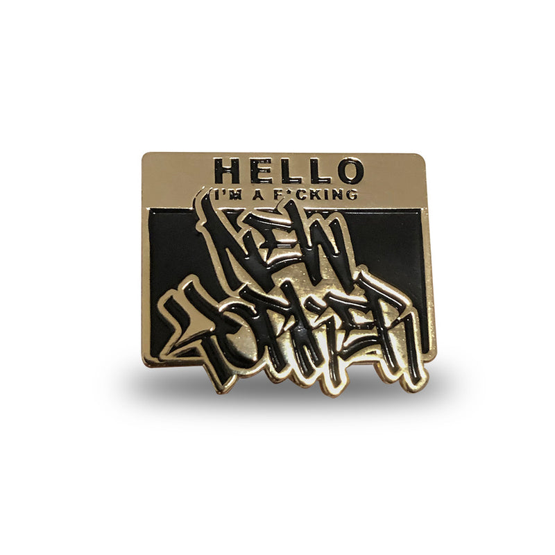 Hello, I'm a New Yorker - Pin