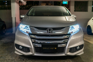 Honda Odyssey 2.4A EXV-S Sunroof (Feb 2017) Super Platinum Metallic