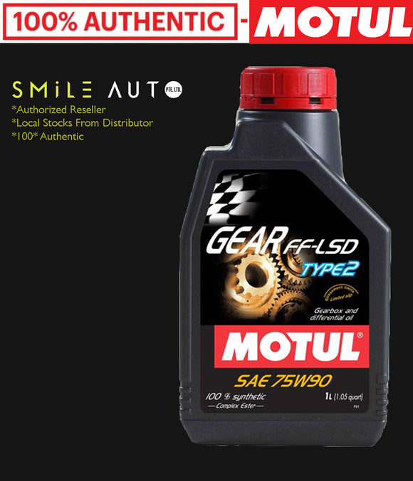 Motul Gear FF Type 2 75W90 LSD Manual Transmission Fluid
