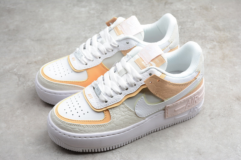 NIKE AIR Force 1 Shadow Spruce Aura Sail Black White / Cream Ice Cream Women Shoes Sneakers Size 36-40 / 5.5-8.5 CK3172-002
