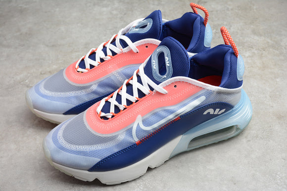 Nike AIR MAX 2090 USA Navy Blue Grey Orange Men Women Sneakers Shoes Size 36-45 / 5.5-11 CT1091-101