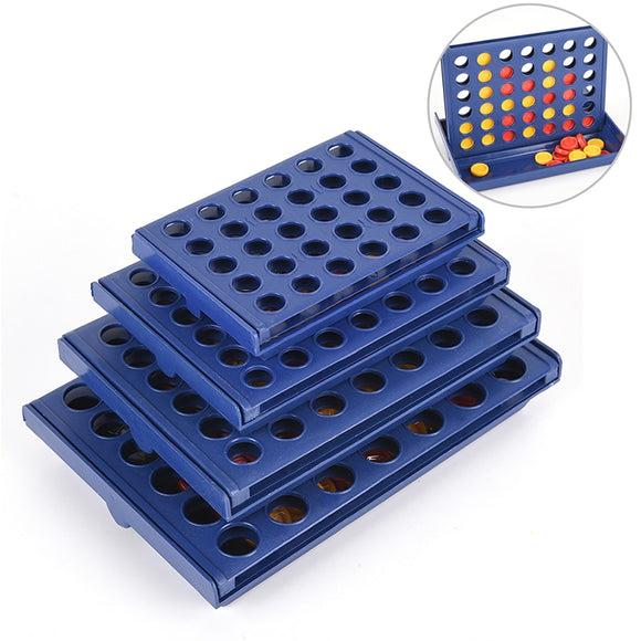 1 Set Connect 4 In A Line Board Game Children's Educational Toys For Kid Sports Entertainment - 88digital