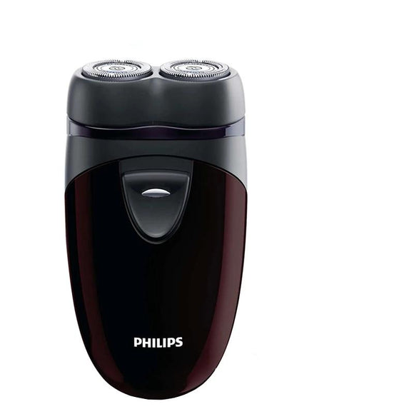 100% Genuine Philips Electric Shaver PQ206 With Two Floating Heads AA Battery Facial Contour Tracking For Men's Electric Razor - 88digital