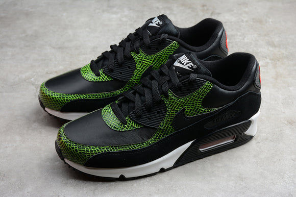 Nike AIR Max 90 Green Python Black Black Cyber Fir Men Shoes Sneakers Size 40-45 / 7-11 CD0916-001