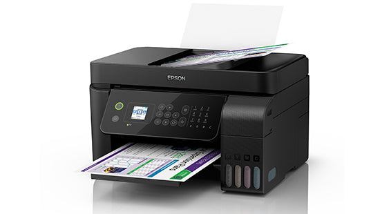 Original Epson L5190 WiFi All-in-One Ink Tank Printer with ADF Print, Scan, Copy