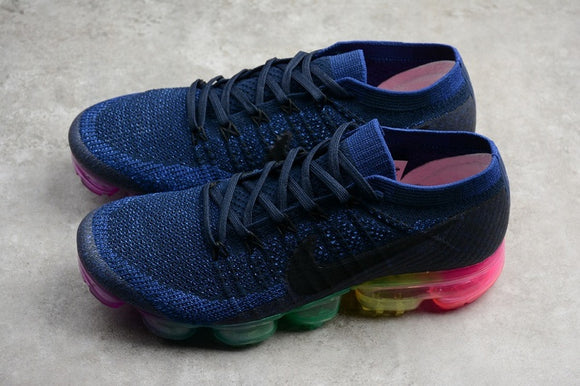 Nike Air VaporMax Flyknit Rainbow Be True Men Women Shoes Sneakers 883275-400