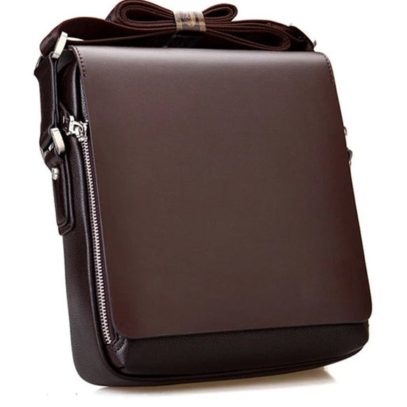 Men's messenger bag Vintage leather shoulder bag Handsome crossbody bag handbags - 88digital