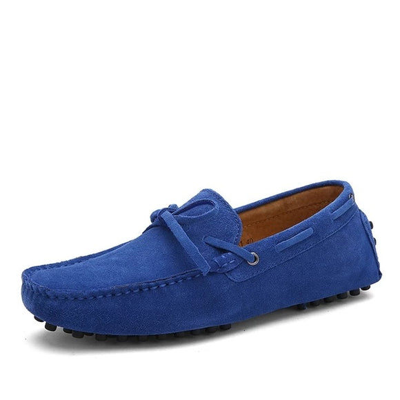 Big Size Cow Suede Leather Men Flats New Men Casual Shoes High Quality Men Loafers Moccasin Driving Shoes - 88digital