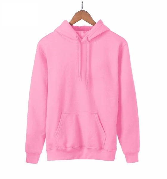 Hoodie Women Sweatshirt Kpop Solid Hoodies Warm Fleece Long Sleeve Hooded Big Size - 88digital