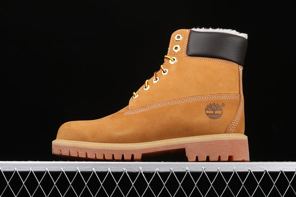 TIMBERLAND MEN WOMEN Classic Hommes Wheat Nubuck Light Brown 6 inch Premium Boots Waterproof TB0A41FP713